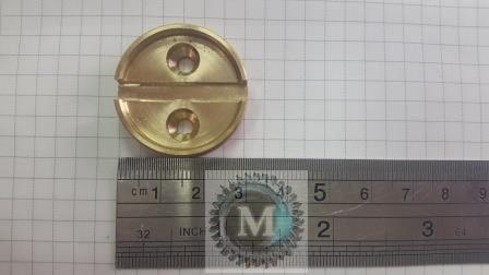 Опечатывающее устройство дверей «чашка» - латунь